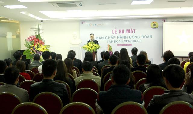 CENGROUP - Thanh lap ban chap hanh cong doan CENGROUP nhiem ky 2016-2018