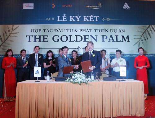 CENINVEST, HDIS hợp tác đầu tư phát triển The Golden Palm