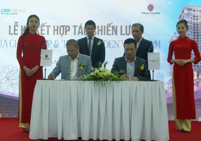 Cengroup ký kết hợp tác chiến lược cùng Times Garden Việt Nam
