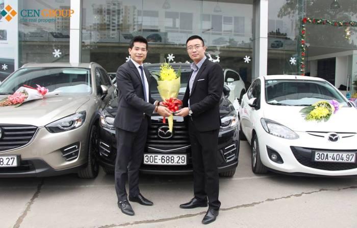 Cengroup thưởng ô tô hạng sang cho nhân viên