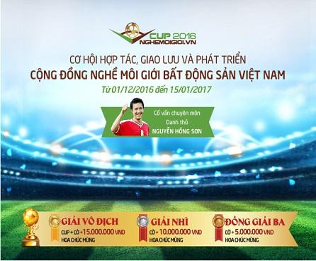 Giải bóng đá CUP Nghemoigioi.vn