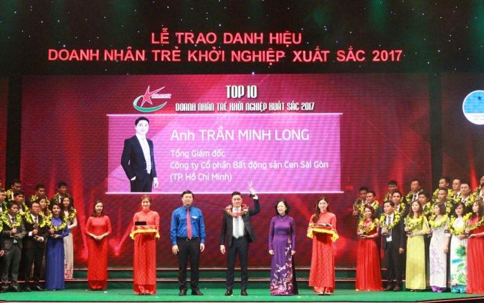 Gặp gỡ anh Trần Minh Long – Top 10 Doanh nhân trẻ khởi nghiệp xuất sắc