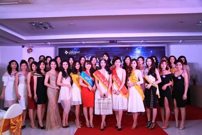 Thí sinh Miss Bikini Cengroup 2017 chính thức ra mắt